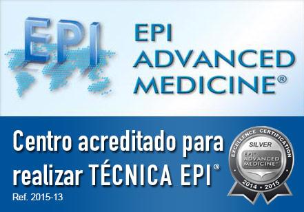 Centro acreditado para realizar Técnica EPI